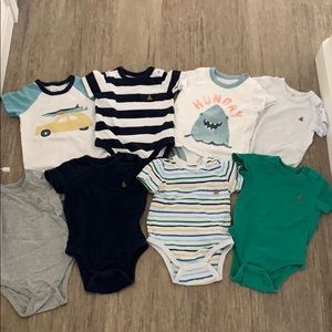 8pc GAP baby onesies 18-24M